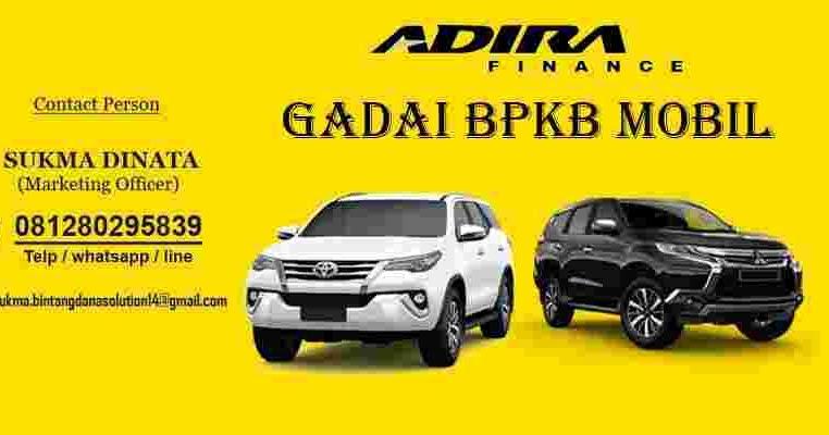 Gadai BPKB Mobil Di Jakarta Selatan Dengan Suku Bunga ...