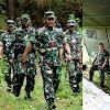Pangdam Hasanuddin, Tinjau Latihan Perang Hutan Yonif Raider 700/WYC