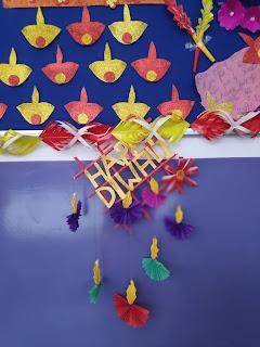 happy diwali ,diya decorations