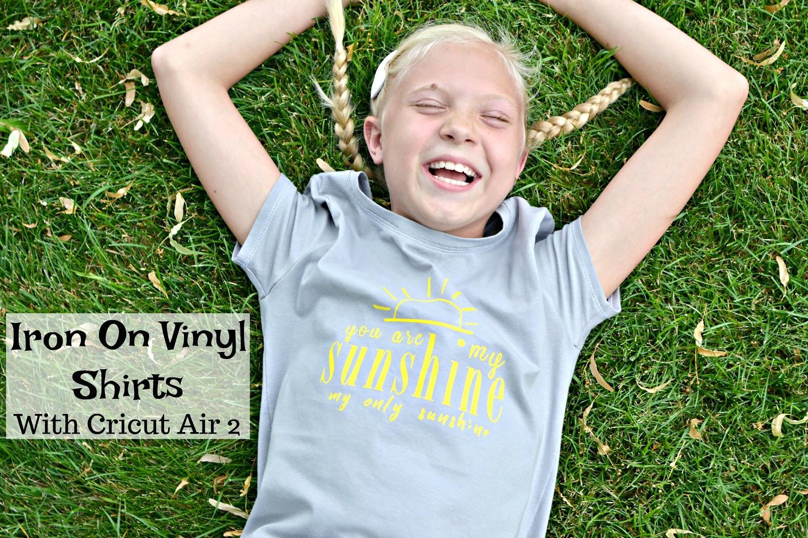 Paisley Roots: Cricut Iron On Vinyl