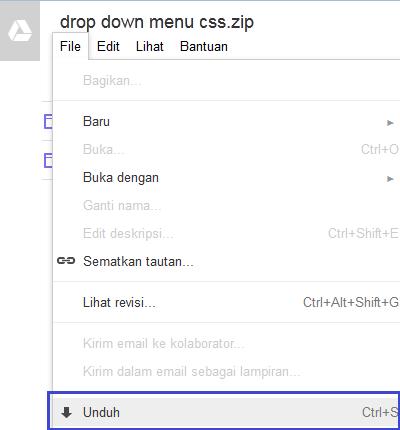 cara berbagi share files google drive