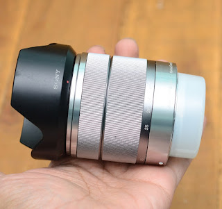 Jual Lensa Kit Sony 18-55mm ( E-Mount ) Bekas