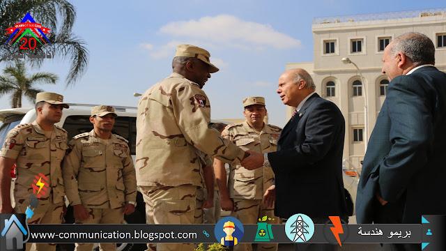 القوات العسكرية بالتربية العسكرية بدورة التربية العسكرية
