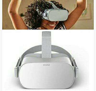 Oculus Visual Reality Video Game Headset with Built-In Speakers