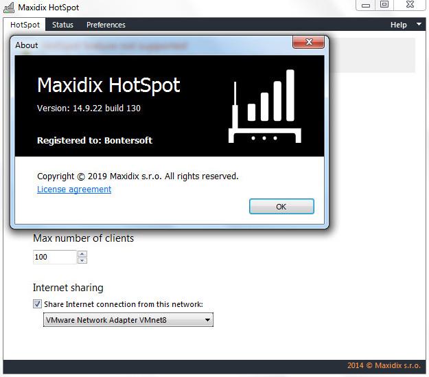 Screenshot Maxidix HotSpot 14.09.22.130 Full Version