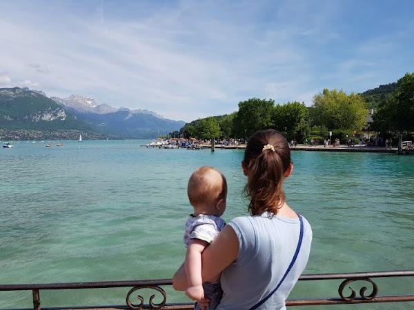 Weekend à Annecy avec un bébé !