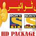 Sony HD,Sony MA HD,SOny Six HD Free To Air