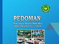 PEDOMAN MASA TA'ARUF SISWA MADRASAH (MATSAMA) tahun 2017-2018