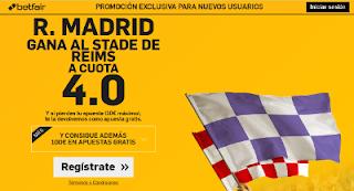 betfair Real Madrid gana Stade de Reims supercuota 4 Amistoso 16 agosto