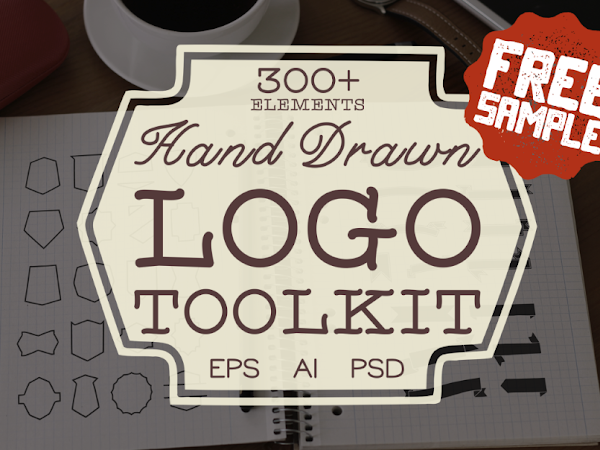 Download Hand Drawn Logo Toolkit Free