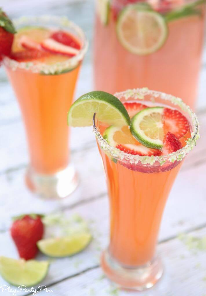 CITRUS STRAWBERRY MOCKTAIL #cocktail #strawberry