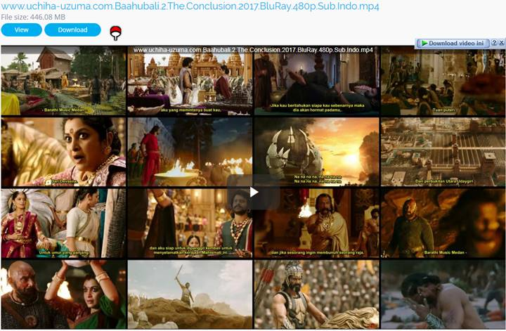 Screenshots Download Film Gratis Baahubali 2 The Conclusion 2 (2017) BluRay 480p 3GP Subtitle Indonesia MP4 Free Full Movie