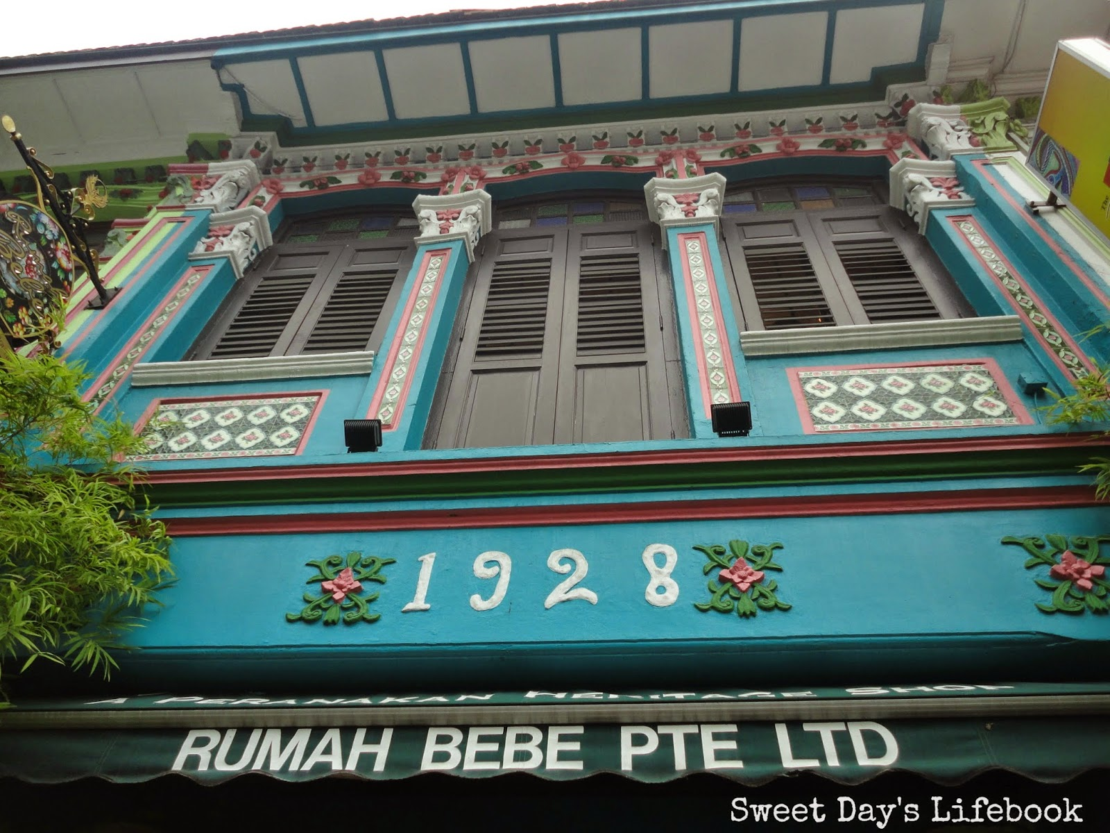 Sweet Day\'s Lifebook: Charms of Katong Part 2
