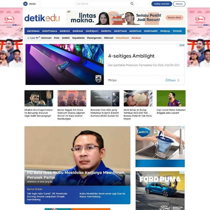 7 Keunikan Situs Berita Detik.com