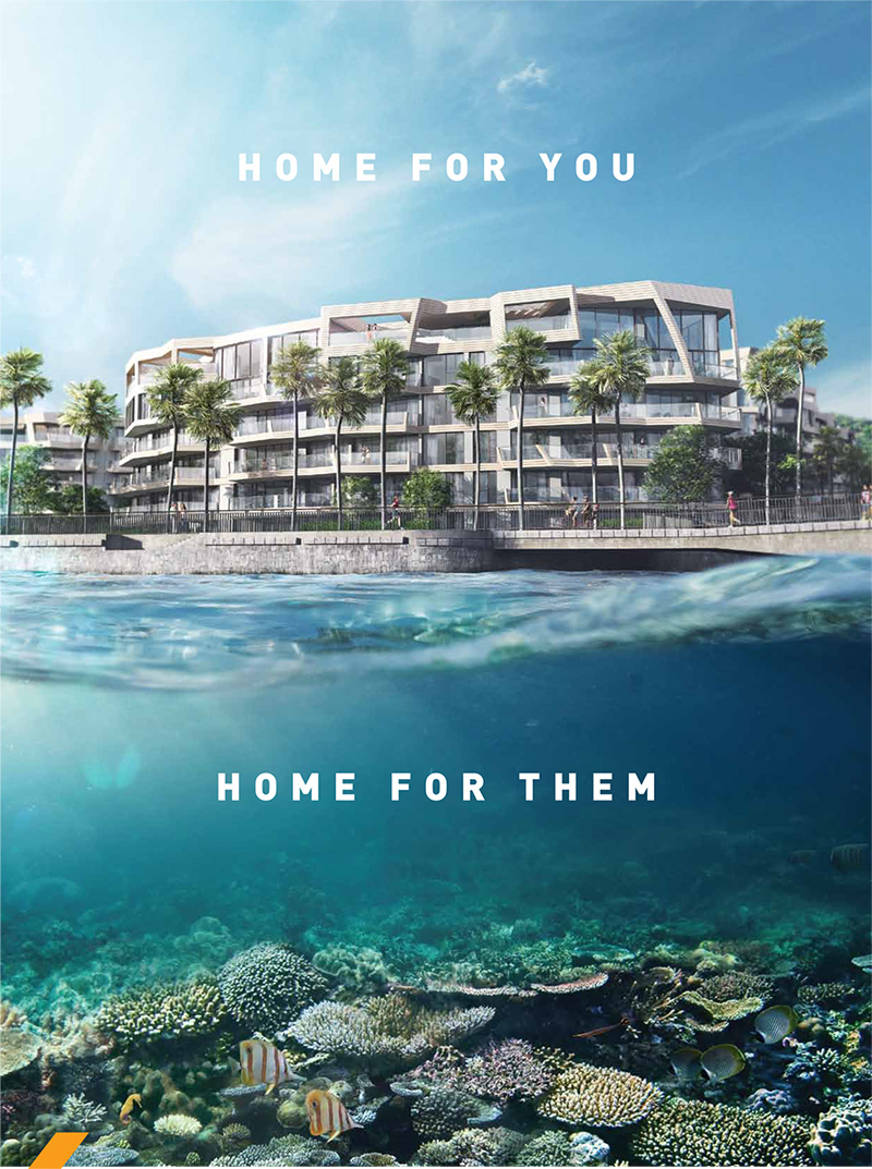 The given right for Corals at Keppel Bay Ownership