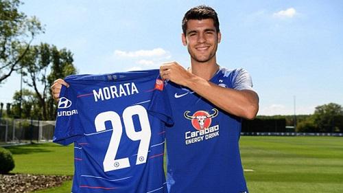 Morata đã đổi số áo nhưng anh chưa đổi vận
