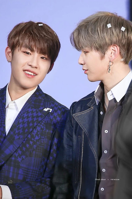 Kang Daniel dan Park Woojin (Wanna One)