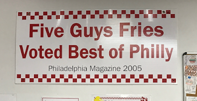 French Fry Diary 737: Robin Goes to Five Guys