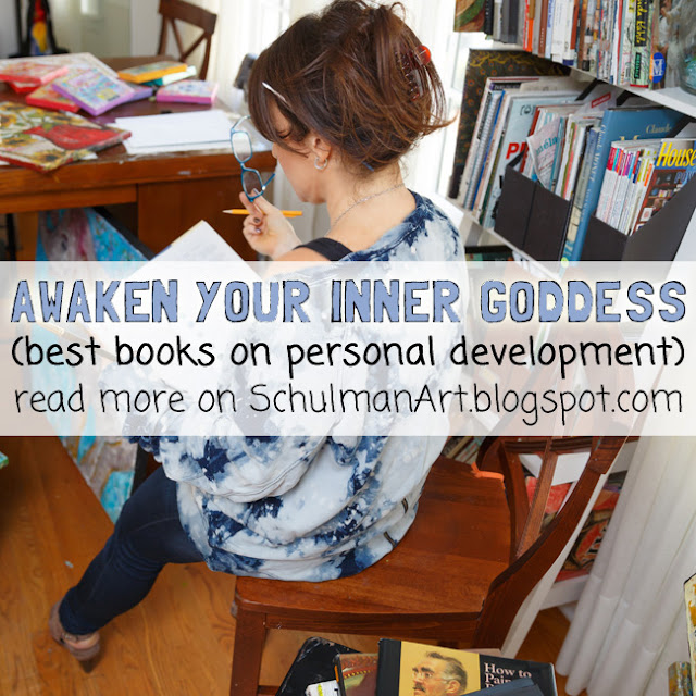 5 best books on personal self-development http://schulmanart.blogspot.com/2015/12/awaken-your-inner-goddess-5-best.html