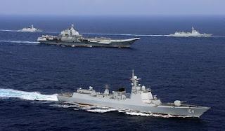 Grup Kapal Induk Liaoning Tiongkok