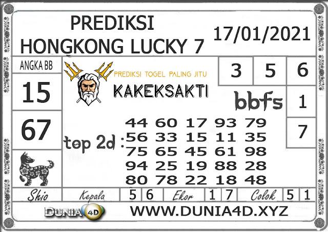 Prediksi Togel HONGKONG LUCKY 7 DUNIA4D 17 JANUARI 2021