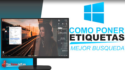 etiquetar windows 10
