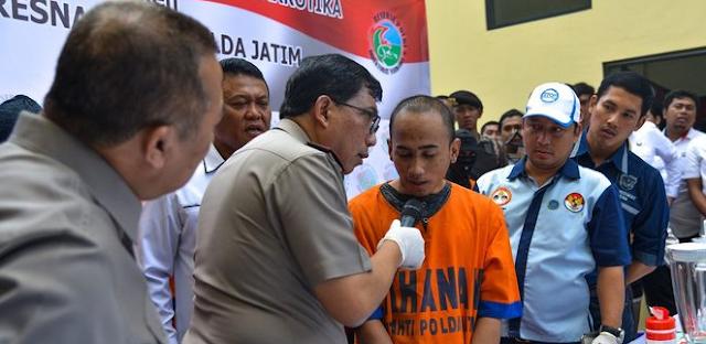 Holis dapat Rp 30 juta selundupkan narkoba dari Malaysia ke Indonesia