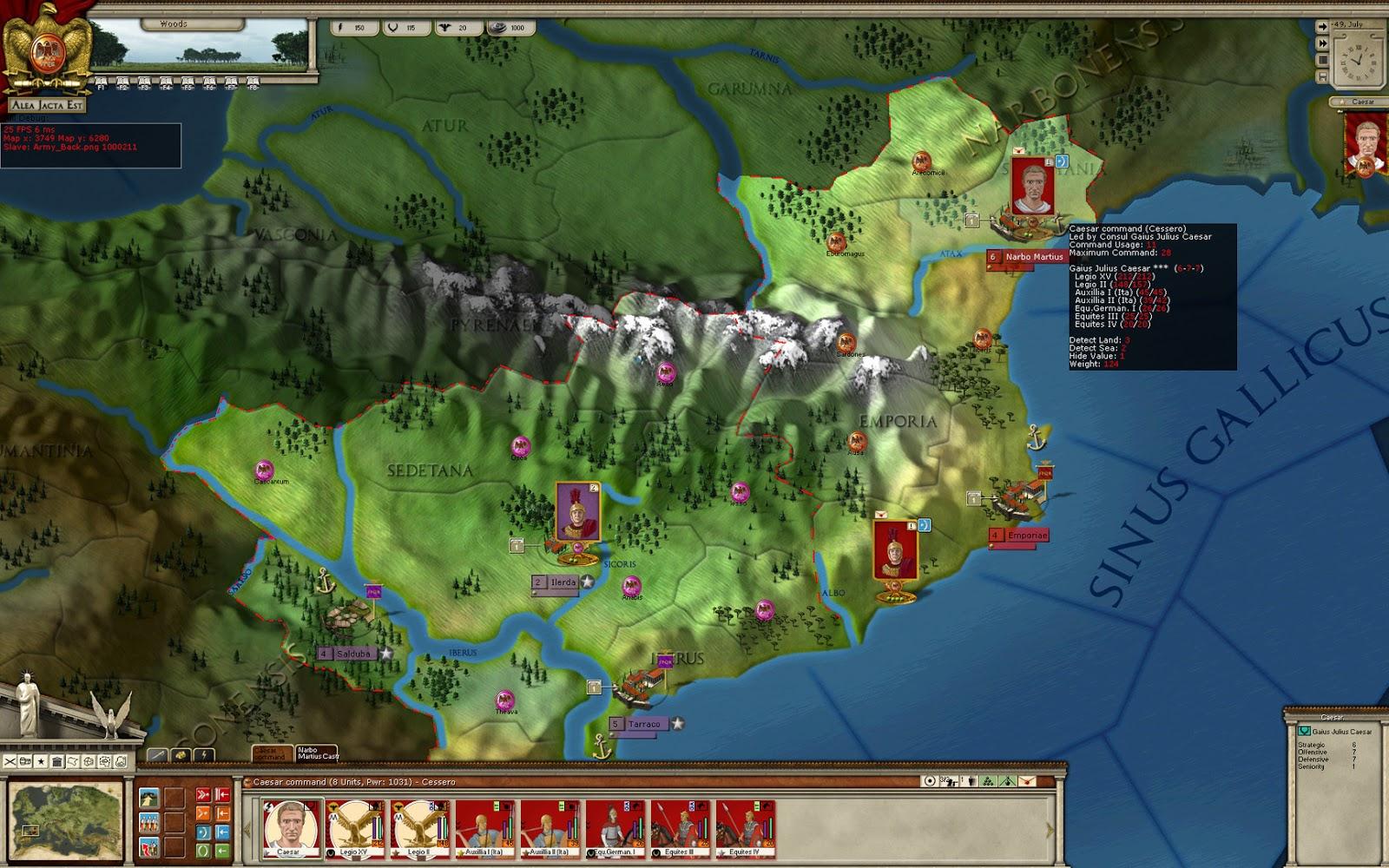 Alea Jacta Est: Roman Civil Wars torrent download for PC
