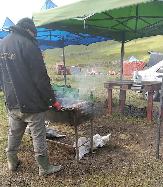 грузинский шашлык