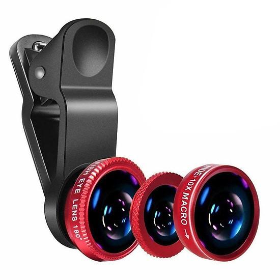Bộ  Lens Universal Clip 3 In 1