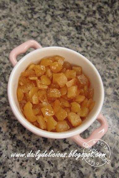 Marmalade Bundt Cake Steamed