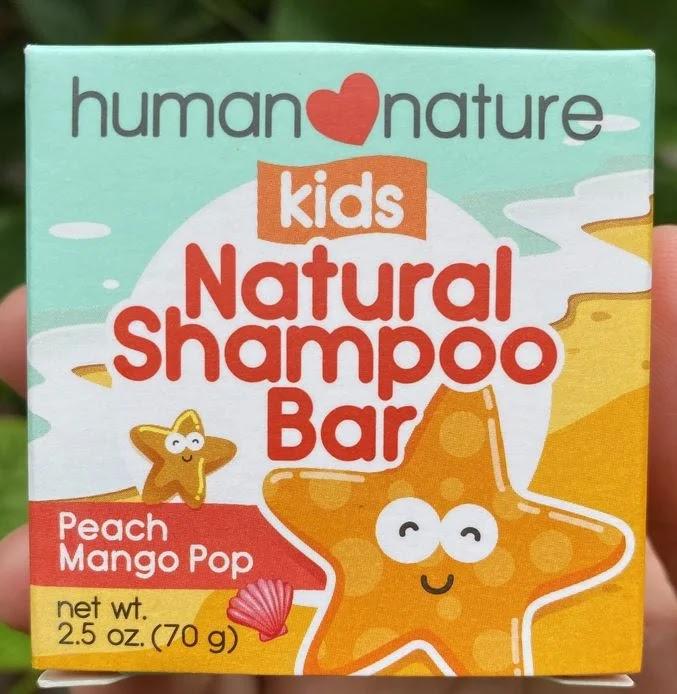 Human Nature for Kids Natural Shampoo Bar