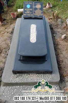 Harga Makam Kijingan Di Surabaya, Pusara Makam Granit Hitam
