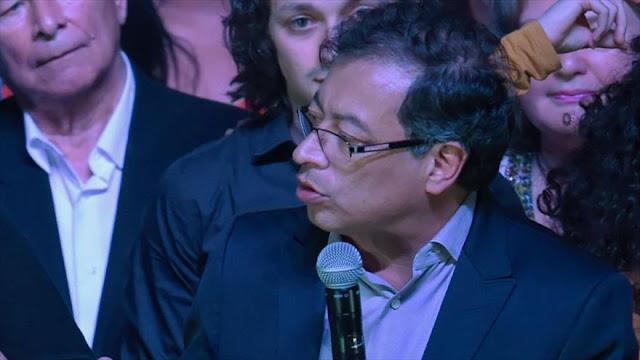 Petro denuncia 'fraude electoral' en presidenciales de Colombia