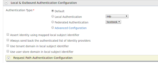 Defining a Custom Default Authentication Flow for All Service Providers