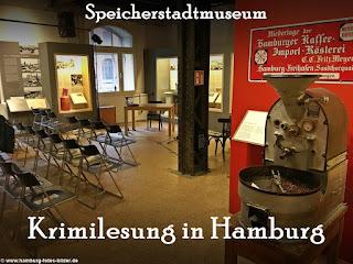 Krimilesung Hamburg, Krimi Lesungen Speicherstadtmuseum