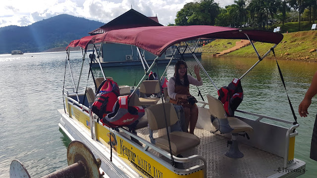 Hyeon Travel Journal; Water Taxi at Tasik Kenyir