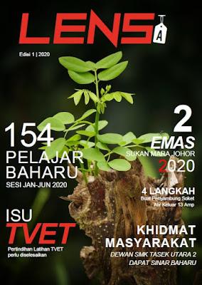 cover majalah lensa