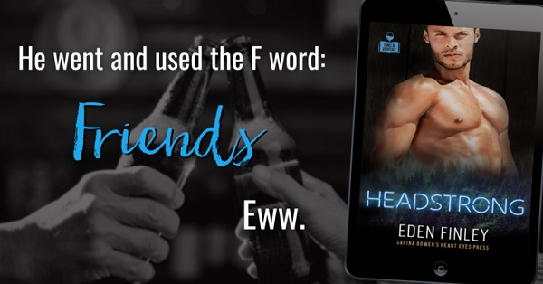 He went and used the F word: Friends. Eww.