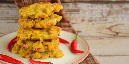 Resep Bakwan Jagung Crispy Kriuk Gurih dan Enak