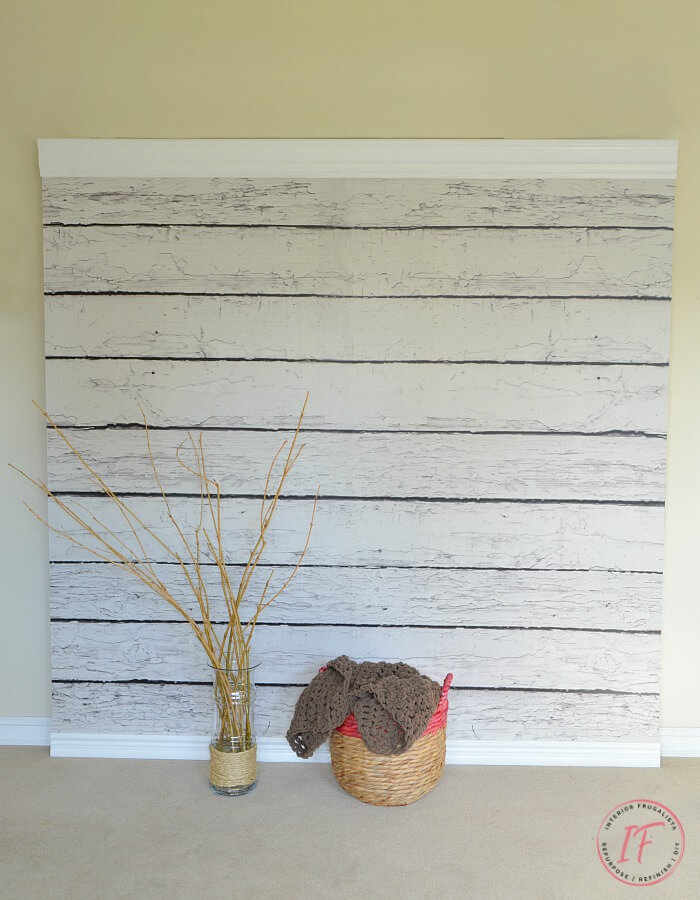 DIY Faux Barnwood Backdrop Wall For Furniture Photography