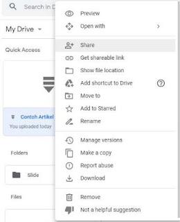 cara menggunakan google drive untuk penyimpanan