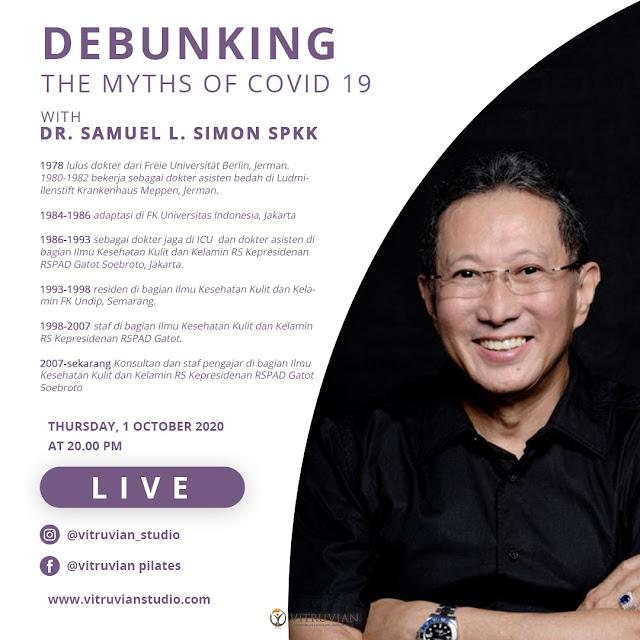 Debunking The Myths of Covid 19 With DR. Samuel L. Simon SPKK