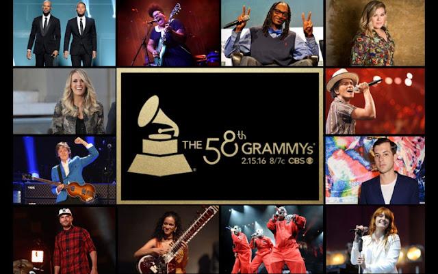 ¿Quién estará en los premios Grammy?