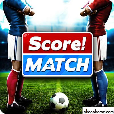 تحميل لعبة سكور ماتش Score Match APK اخر اصدار أروع لعبة كرة قدم للاندرويد