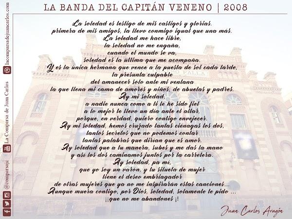 """Pasod. La Soledad es testigo 🍙Comparsa """"La Banda del Capitán Veneno"""" 🍙Carnaval 2008"""