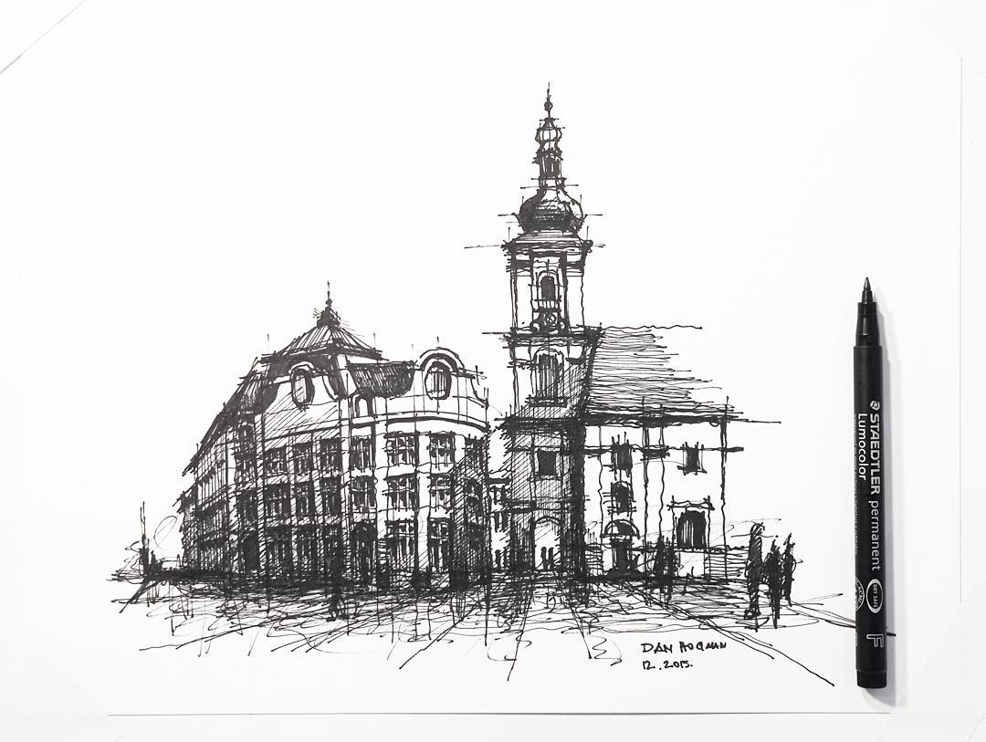 16-Dan-Hogman-Architectural-Sketchbook-Drawings-www-designstack-co