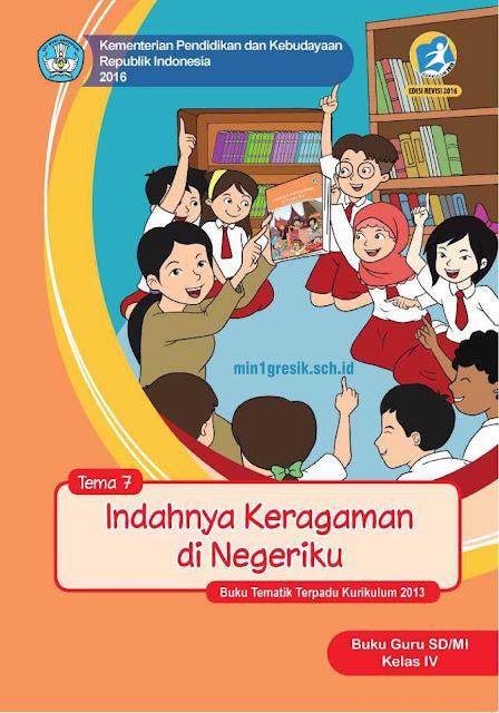 buku guru tematik kelas 4 sd/mi tema 7 kurikulum 2013