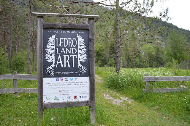 ledro land art visita