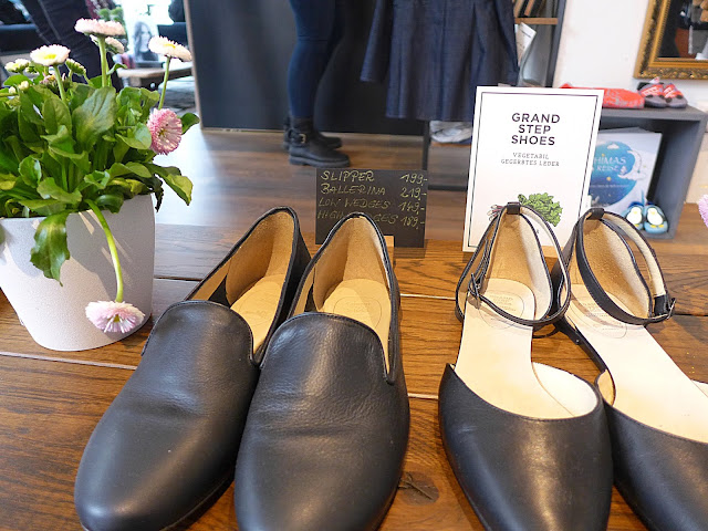 Schuhe aus Rharbarber Leder von deepmello
